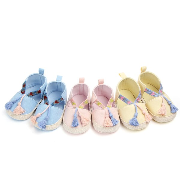 Baby Girls Boys Shoes For Spring Autumn Cute Cartoon Newborn Infant Toddler Crib Zapatos Soft Sole Floor First Walkers TS107
