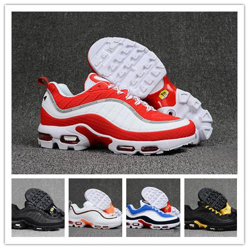 separation shoes 742e9 03a23 Air Max 98 Plus Tn Running Shoes Kpu Men Gundambrand OG QS Chaussure Homme  Designer Sneakers Athletic Trainers Hiking Jogging Outdoor Sports Best ...