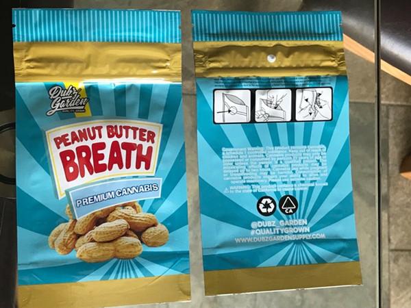 Saco da respiração da manteiga de amendoim