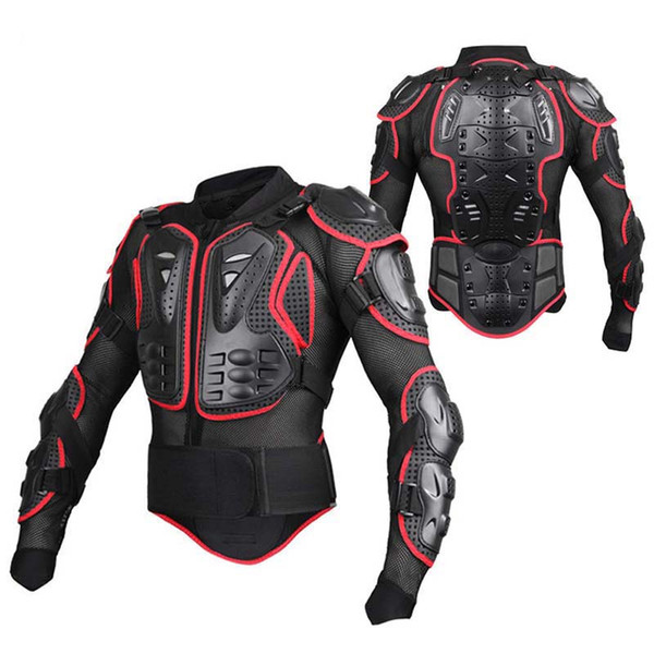 top popular SULAITE Full Body Sport Guard Armor Off-road Motorcycle MTB Racing Shatter-resistant Protective Jacket Sportswear Outdoor Acti 2020