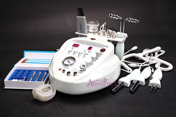Led Skin Rejuvenation Ultrasonic Facial Therapy Machine Ultrasound Device Massager Antiaging Spa Photon 3mhz Face