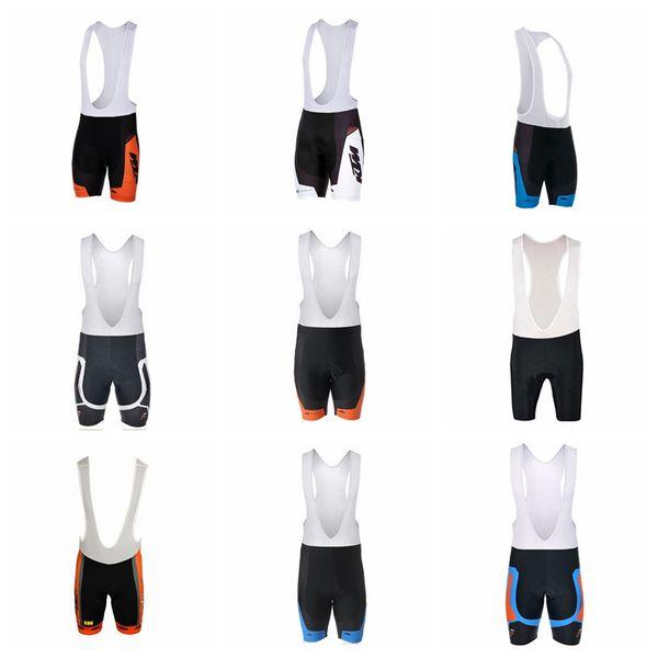 KTM équipe cycliste cuissard hommes été plein air confortable équitation shorts de sport en plein air résistant à l'usure 3d gel pad shorts Q62724