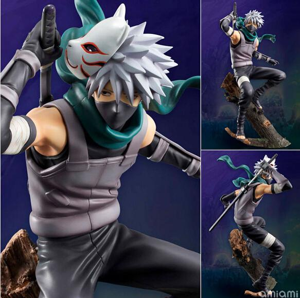 best selling Wholesale-Newest arrival 1pcs anime Naruto GEM Hatake Kakashi pvc figure character toy model tall 24cm in box hot sell.