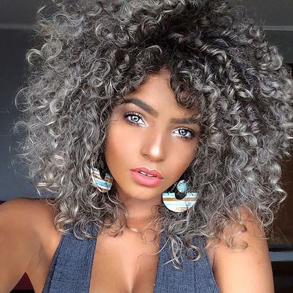 Women High Temperature Fiber Synthetic Afro