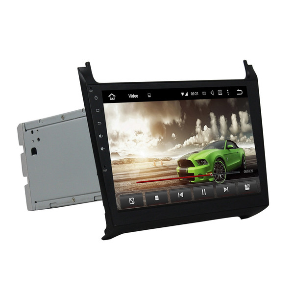 """4GB+32GB Octa Core 2 din 10.1"""" Android 8.0 Car DVD Player for VW Volkswagen Polo 2012 2013 2014 2015 2016 RDS Radio GPS WIFI Bluetooth"""