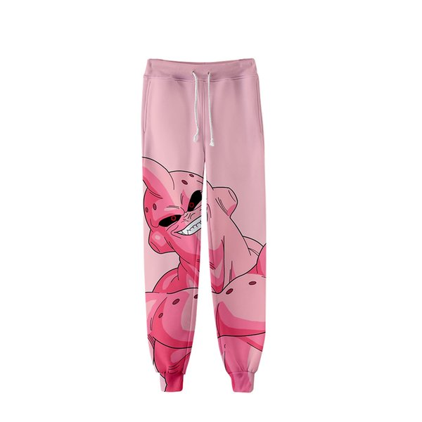 hot nwe Goku Anime 3D Print Cartoon Pants Men's Sports Pants Casual Harajuku Hip Hop Shrink Foot