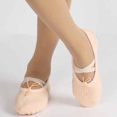 Enfants ballerines à semelle souple orteil chaussures garçons girsl chaussures de ballet pratique chaussures de danse pour bébé enfants juniors 3-16T