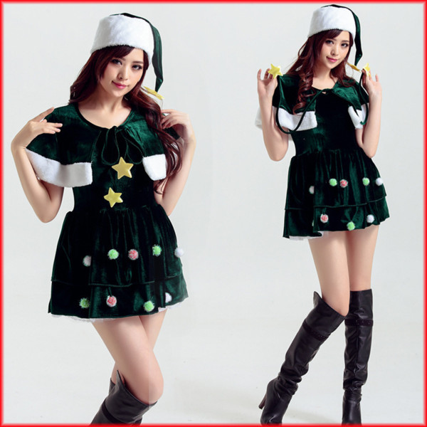 Christmas Carnival Theme Outfit.Santa Claus Women Cosplay Costumes Full Set Adult Christmas Dress New Year Carnival Party Winter Clothes Outfit Halloween Themed Outfits Groups Of