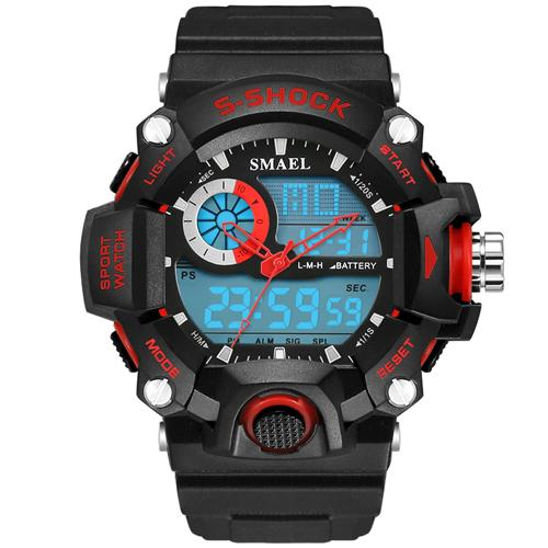 SMAEL Watches Watches Men Led Digital Electronic Male Clock 1385 S Men Sports relogio masculino