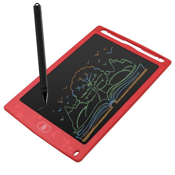 Tablet da 8,5 pollici Cartoon LCD Tablet Tablet disegno digitale giocattoli educativi per il tempo libero Tappetino da disegno per bambino Scrittoio Regalo per bambini