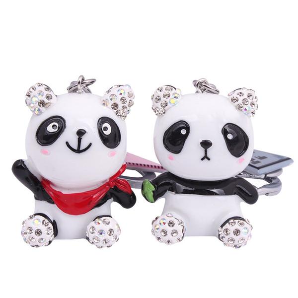 Acheter 2019 Nouvelle Version Coréenne Du Porte Clés Du Dessin Animé Mignon Petit Panda étudiant Petit Cadeaux Cadeaux Cadeaux Promotionnels De 704
