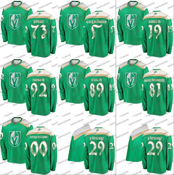 huge selection of 37c9a 60e05 2019 Vegas Golden Knights Deryk Engelland Alex Tuch Jonathan Marchessault  William Karlsson Reilly Smith Marc Andre Fleury Hockey Jerseys From ...