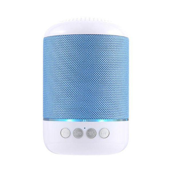 TG115 LED Bluetooth Mini Hoparlör Kablosuz Taşınabilir Hoparlör TF USB Müzik Çalar FM Radyo Mic için iPhone XS 8 Artı Samsung Xiaomi
