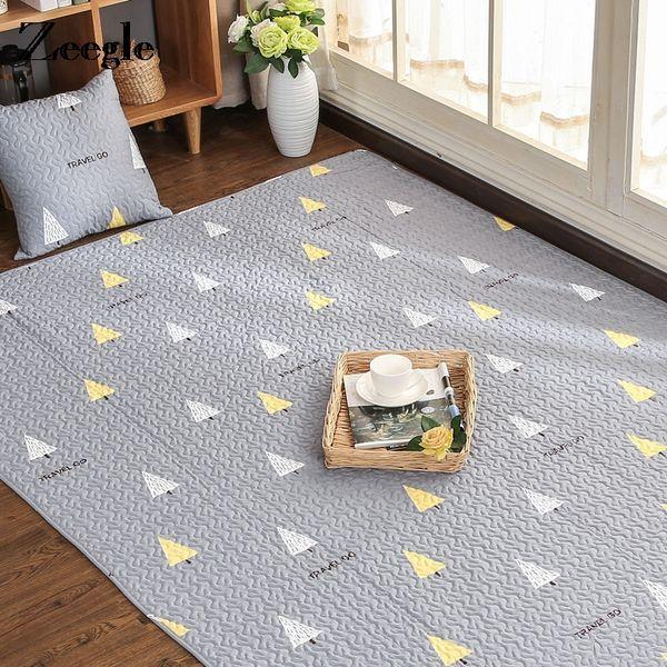 Zeegle Nordic Carpets Детская комната Противоскользящие ковры для спальни Прикроватные коврики Мягкая детская комната Коврик Диван Стол Коврики для младенцев