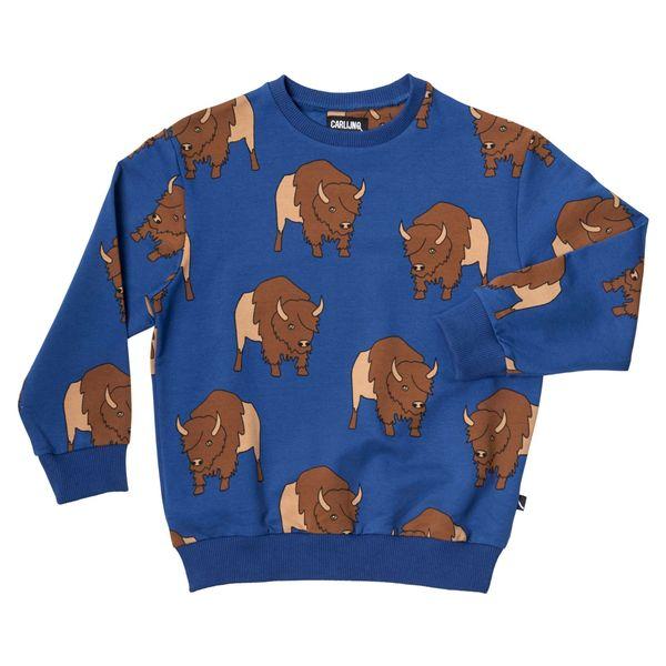 azul do gado camisola