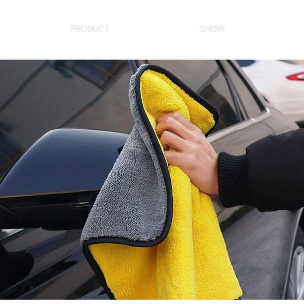 LumiParty Super Absorbent Car Wash Towel Soft Car Cleaning Drying Towel high quality Wash Strong Durability r30