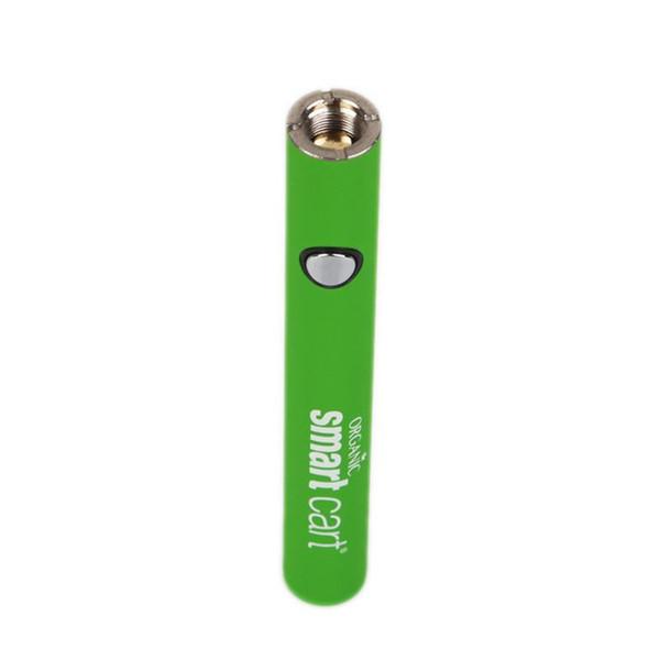 Cartuchos espertos da linha da pena 510 da pena de Vape da bateria do carro 380mah tensão variável Bateria de preaquecimento com o carregador de USB contra a palma de Vmod do girador da visão