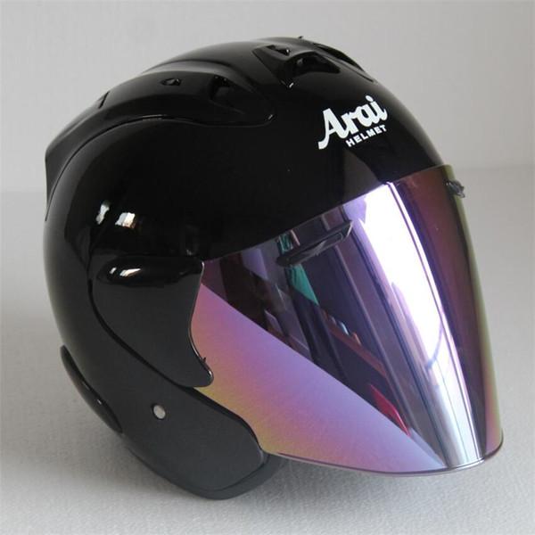2017 Top hot ARAI helmet motorcycle helmet half helmet open face casque motocross SIZE: S M L XL XXL,,Capacete