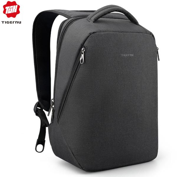 Tigernu Waterproof Laptop Backpack Pink Travel Schoolbags Casual Light Mochilas