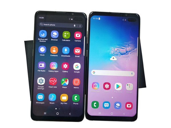 Goophone S10+ S10 Plus with WCDMA 3G Quad Core Ram 1GB ROM 8GB Android 7.0 Camera 8.0MP Face & Iris ID Smartphone Show 8+128GB
