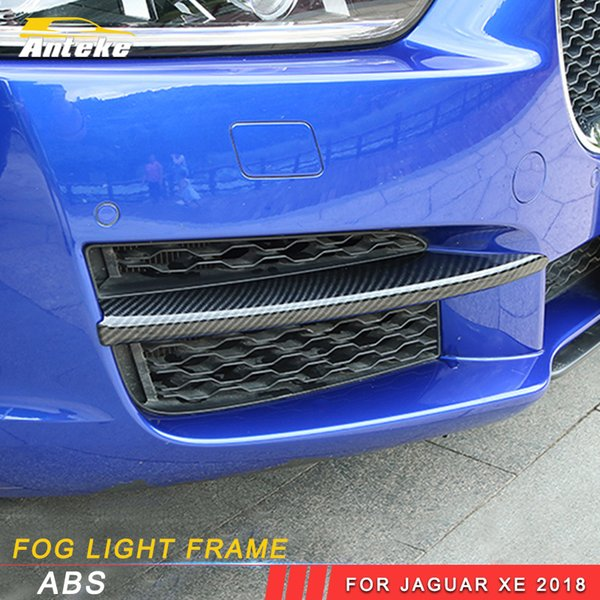 Anteke Auto Car Styling Front Fog Light Frame Trim Stickers Covers