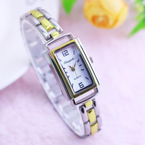 2019 cyd marca new arrival clássico mulheres meninas moda relógios de pulso senhoras vestido de quartzo de luxo mão de ouro catenária relógios relógio