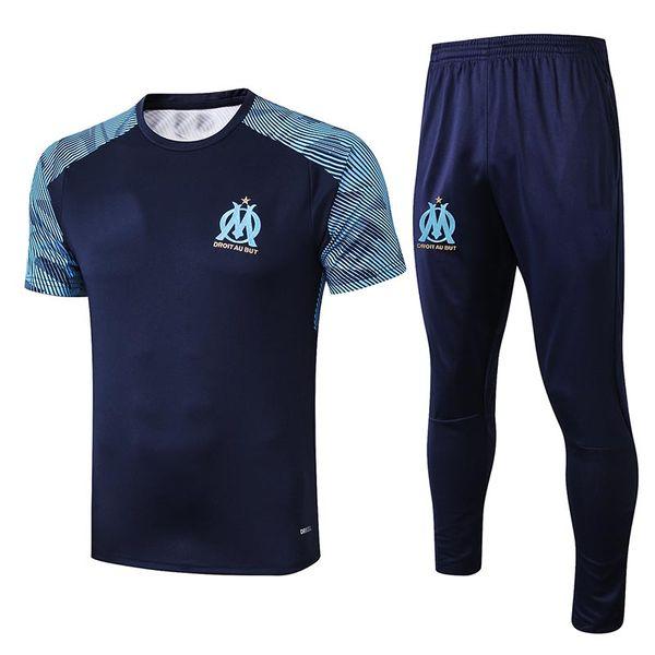 Olympique De Marseille 2019 2020 top training pre match soccer jersey PAYET THAUVIN GUSTAVO MAILLOT OM DOMICILE EXTÉRIEUR football shirt