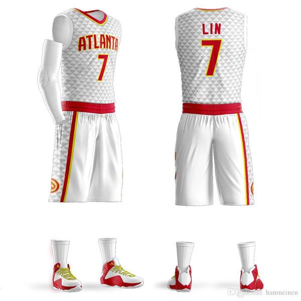 Customize Mens basketball jerseys red black white college basketball uniforms free design sport sets wholesale jerseys sets free shipping