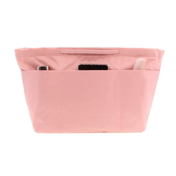 Pink Bag Organizer Insert Bag Women Insert Handbag Purse Large Lady , Black, Blue, Grey, Green, Navy Blue