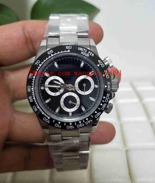 8 Estilo Relógio de Qualidade superior BP Fábrica CAL.7750 Movimento 40mm 116500 116500LN 116506 116508 Sapphire glass Cronógrafo Automático Mens Relógios