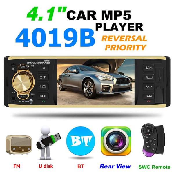 Bluetooth Araç Radyo Autoradio Stereo MP5 Player 4.1