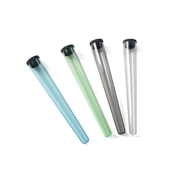 Горячие продажи 115 мм Верхняя Коническая Трубка Предварительно Рулонные Пластиковые Конуса Упаковочные Трубки Для Рулонной Бумаги Сигареты