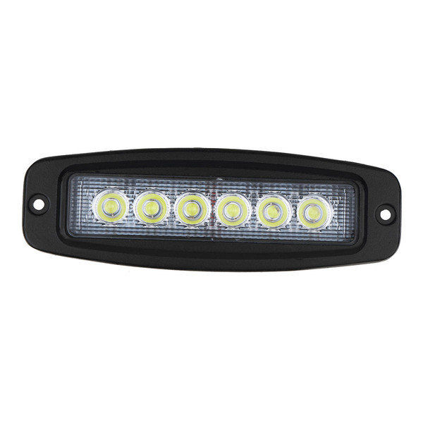10 30v 6 Led Car Aluminum Alloy Flush Mount Flood Work Light Bar Driving Reverse Lamp Portable Shop Light Portable Shop Lights From Caishen666