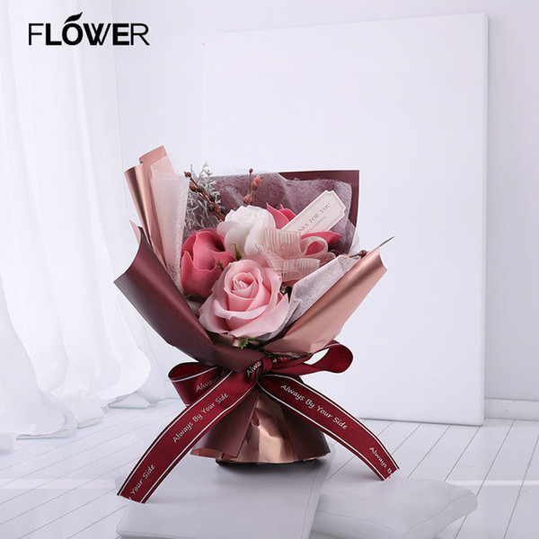 New PVC Soap Flower Bouquet Holiday Gifts New Chit 520 Mother's Day Valentine's Day Gifts