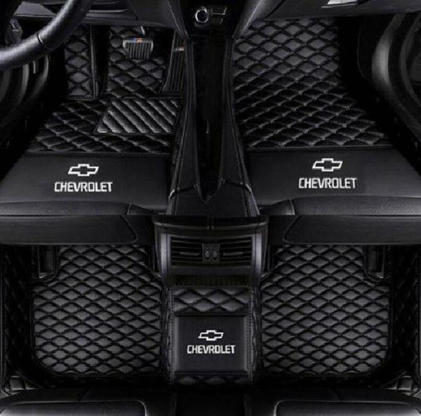 Applicable au tapis d'ameublement en cuir de voiture Cruze 2009-2016 de Chevrolet, tapis non toxique sans odeur