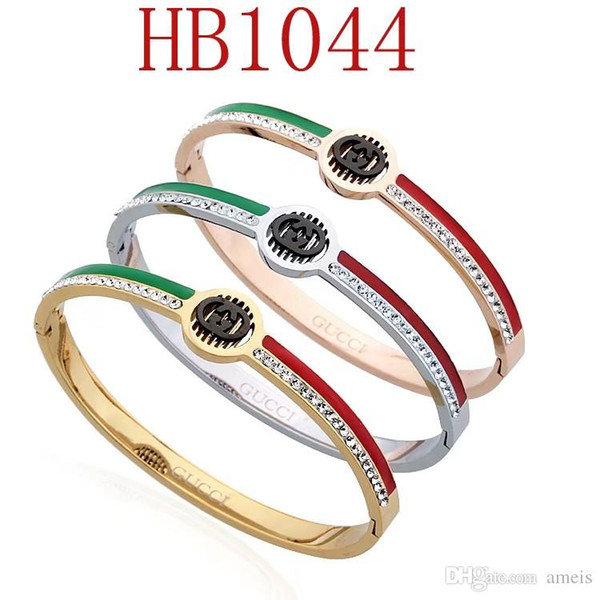 New Brand designer bracelets For Women High-end Quality Bangle For Ladies Jewelry With Gold Rose Gold Silver color Drop Shipping
