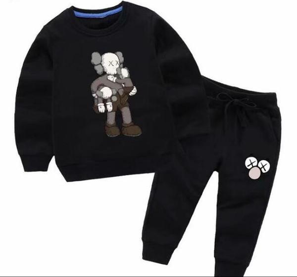 jacket Kids Hoodies sweater and Pants 2Pcs/sets Children Sport Set Baby Boys Girls Winter Coats Pants Sets oerweo sweater kids