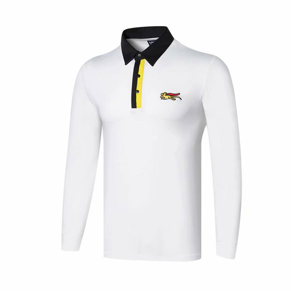 best selling New sports clothes Dust_Proof Golf Shirt Latest spring and autumn Tit Golf sports shirt Anti-Pilling Full Sleeves Golf T-Shirt Free shipping