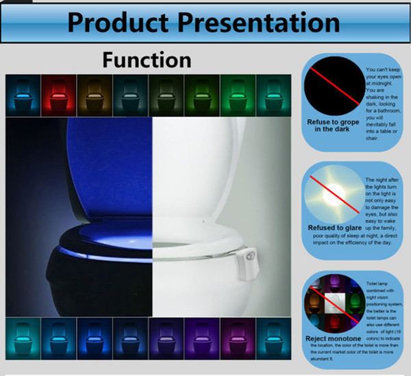 Miraculous 2019 16 Changing Body Sensing Automatic Led Motion Sensor Night Lamp Toilet Bowl Bathroom Light From Honey Home 2 99 Dhgate Com Cjindustries Chair Design For Home Cjindustriesco