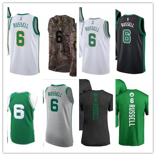 wholesale dealer d0fb9 8af82 2019 2019 Custom Men/WOMEN/Youth Boston Celtic Jersey 6 Bill Russell  Basketball Jerseys Free Ship Size S Xxl Message Name Number From Lzytop002,  ...