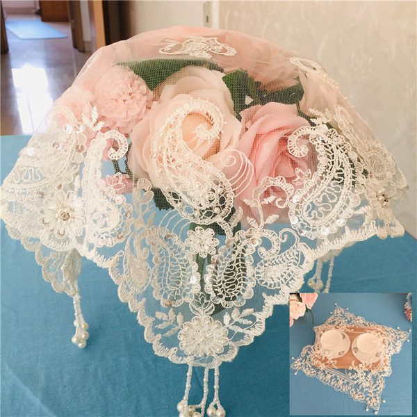 Europe Beautifully Solid White Lace Christmas Tablecloth Transparent Party Xmas Table Cloth Home Dining Table Cover 1pcs