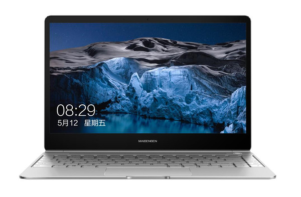 Maibenben Jinmai 6A 2019 new product laptop 13.3 inch 1.25KG 14.55mm 1980*1020 ADS screen 180° opening and closing