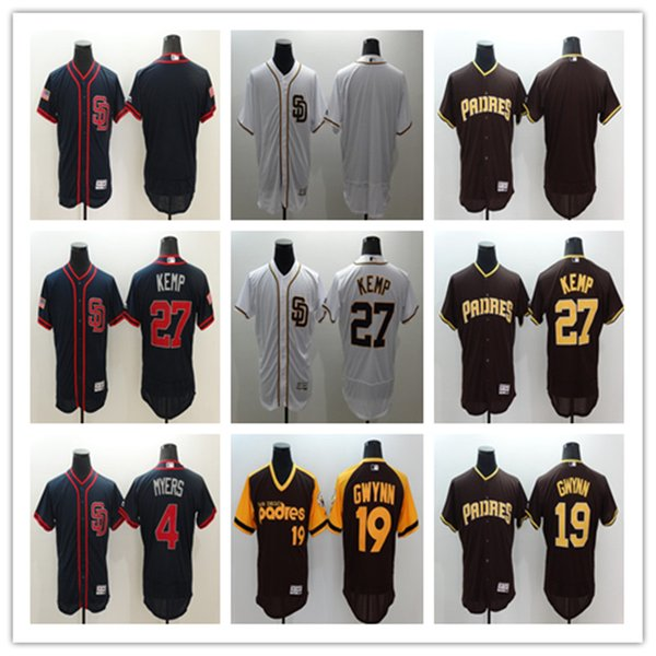 premium selection 98333 d85f2 2019 San Diego Padres Jersey #19 Tony Gwynn 2017 #27 Matt Kemp Baseball  Jersey Cheap Rugby Jerseys Authentic Stitched Free Shippin From Taiyangj,  ...