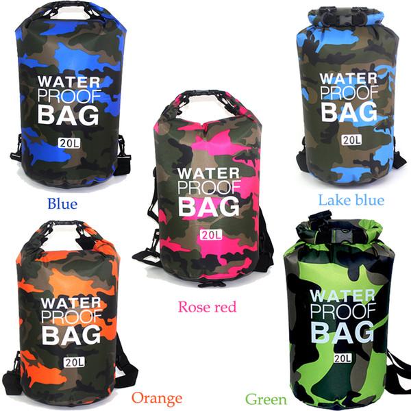 Portable Rafting Diving Dry Bag Sack Waterproof Folding Swimming Storage Bag New