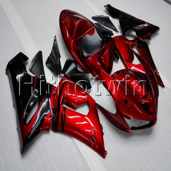 23colors + Gifts rosso ZX6R 2005 2006 carenatura per Kawasaki ZX 6R 636 ZX636 05-06