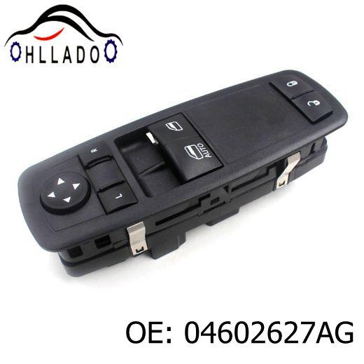best selling HLLADO Free shipping NEW Door Power Window Switch 04602627AG For 2008-2011 C hrysler D odge Grand Caravan Master Window Switch 04602627AG