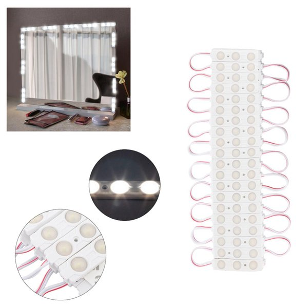 makeup mirror led bulbs mirror light make up vanity cosmetic lights lamp kit lens headlight adjustable brightness lights