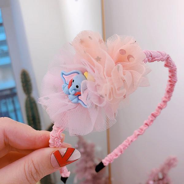 New Lace flower baby headbands princess girls headband designer headband Boutique designer headbands kids Hair Sticks hair accessories A6750