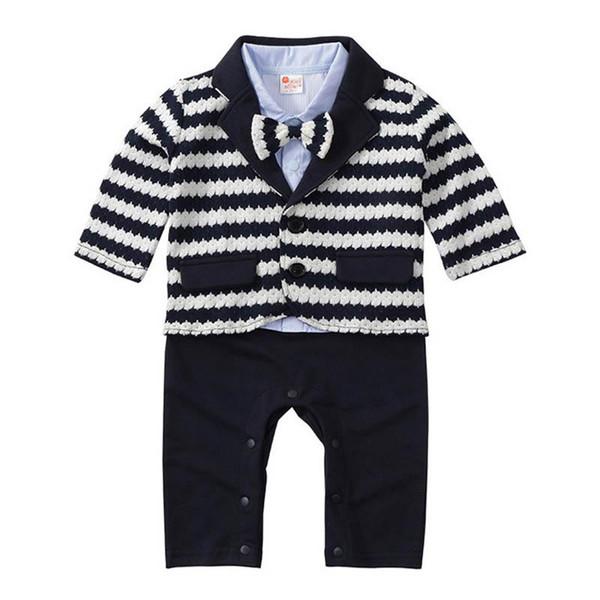 Babykleidung Neugeborenen Outfits Kleinkind Jungenkleidung Jungen Kleidung Sets Jungen Anzüge Mantel + Babyspielanzug Set Säuglingsabnutzung Baby Geschenk