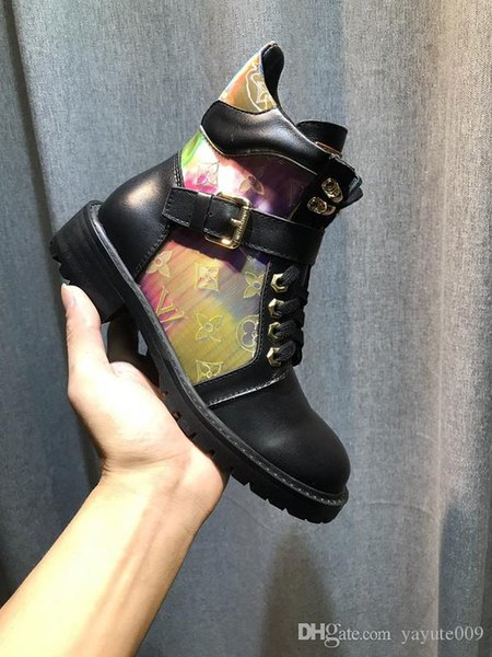 A4 Quality New Fashion Rivets Red Bottom Leather Women High Top Sneaker Luxury Design Ankle Boots